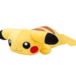 寶可夢抱枕系列-大型慵懶皮卡丘靠枕
